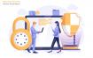 网络安全场景素材插画素材下载Network Security Vector Illustration