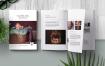企业画册婴儿写真摄影杂志画册模板样机Newborn Magazine Complete Pricing Guide