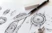 手绘稿样机模板素材展示效果图样机Sketch Mockup Set