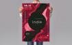 音乐海报推广传单/海报模板素材Music Poster Promotion Sjl8zw