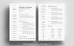 职场简约设计简历模板展示3 Pages Clean ResumeCV Template