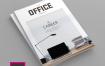 企业产品介绍类画册模板素材下载Magazine Template Vol 10