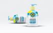 化妆品瓶极致简洁图形样机素材模板素材Cosmetic Bottle Dispenser Mock Up V 3