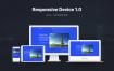 响应式设备样机素材模板展示Responsive Device Mockup 1.0