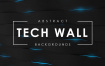科技墙背景素材模板Tech Wall Backgrounds