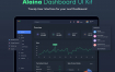 42个后台数据图表UI模板,素材Alaina Dashboard UI Kit