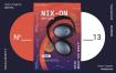 音乐耳机宣传海报/传单模板展示Headphone Poster