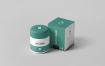医疗包装瓶包装盒多场景多角度样机模板展示Supplement Jar Box Mock up 2