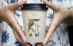 热饮咖啡杯小样多场景样机智能贴图Coffee Cup Mock Up 6jdbktz