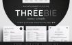 极简高端简历模版 Threebie Resume/CV Bundle 4