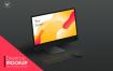 极简场景设备样机模板Desktop Mockups Black