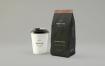 咖啡包装袋样机素材Coffee Packaging Mockup Zczxma