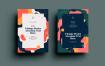印象派风格传单/画册模板展示素材SRTP Poster Design.36