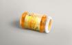 360度蜂蜜包装瓶样机模板展示效果  5 Jam Jar Mockups