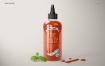 番茄酱展示样机 Sauce Bottle Mockup Set
