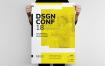 现代主义系列海报模板展示素材DSGN Series 9 Poster Template