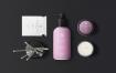 天然化妆品包装套装样机模板展示Natural Cosmetic Packaging Mock Ups Vol 2