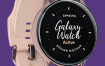 三星Galaxy手表设计样机Samsung Galaxy Watch Design Mockup