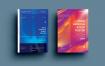 创意艺术设计科技感粒子海报模板展示AFR-Poster Design.13