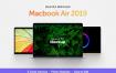 Macbook Air 2019样机苹果电脑素材模板Macbook Air 2019 Mockup