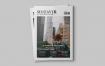 清洁优雅杂志模板素材下载Mozavir Magazine