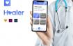 医疗健康私人助理移动iOS UI工具包Healer UI Kit