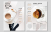 咖啡海报设计矢量包海报素材模板Coffee poster design vector set