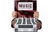钢琴:音乐表演活动海报模板Piano : Music Show Event Poster
