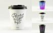 咖啡杯素材模版样机展示效果图模版Coffee Cup Mockup Wej6bz