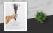 简约商业活动传单模板素材下载Clean and minimal Fashion Event Flyer Poster