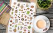 茶和咖啡涂鸦图标合集源文件下载Coffee and Tea Doodles