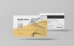 银行卡样机素材企业专信用卡样机素材下载Plastic Card Mockup 2