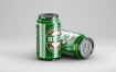 啤酒样机素材模板展示效果图Small Beer Can Mock Up Template