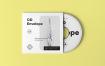 高端CD唱片样机模板素材 多场景素材样机展示CD Envelope Mock up 2