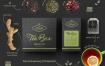 高端茶品牌包装样机素材模板展示样机Tea Box MockUp