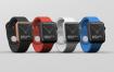苹果手表iwatch展示效果图样机模板展示效果图  素材Smart Watch Mockup