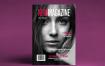 美丽而酷炫的灰度时尚杂志模板NOIR Magazine