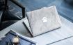 笔记本电脑创意皮肤素材模板展示样机素材MacBook Skin Mock Up