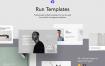 品牌服装电商投资代理官方网站模板Run Templates