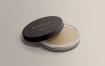 化妆盒展示样机 Clear Glass Cosmetic Jar Mockup