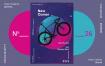 骑行爱好者活动海报/传单模板素材展示Bike Poster