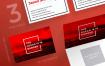 拯救类海洋会议名片模板Save Ocean Conference Business Card Template