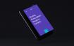 黑色手机样机素材模板Black Phone Mockup