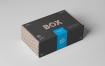 包装盒样机素材模板展示效果图  素材Carton Box Mockup 23x14x8