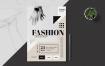 时尚活动传单海报Minimal Fashion Event Flyer Poster