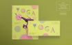 瑜伽锻炼传单和海报模板Yoga Workout Flyer and Poster Template Duq5xw