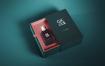 高端高档香水包装盒玻璃瓶子智能贴图样机展示Perfume Mock-up