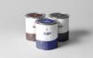 精致罐头包装罐样机素材下载Can of Paint Mock up