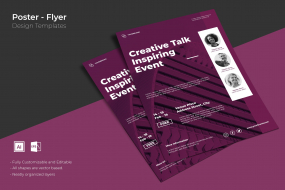 创意海报设计模板素材传单/海报SRTP Poster Design.13