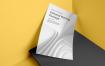 海报/ A4信头样机传单纸极致简洁设计场景模板Poster A4 Letterhead Mockup Vol. 3